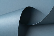 Steel Blue Abstract Design