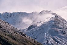 Wind Blown Snow On Caudale Moo...