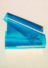 Roll Of Bright Blue Film