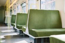 Empty Seats On Passenger Train