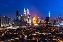 Kuala Lumpur, Malaysia City Sk...