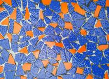 Broken Ceramics Surface
