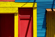 Brightly Colored Building In L...
