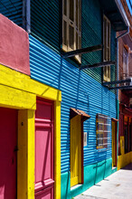 Colorful Houses On Caminito St...