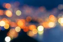 Blurred Image Of Rio De Janeir...
