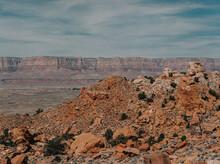 Dry Canyon Plateau In Arizona