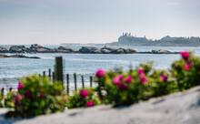 Beach Landscape In Newport, Rhode Island