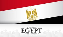 Egypt Armed Forces Day Backgro...