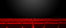 Cinema Movie Theatre With Red ...