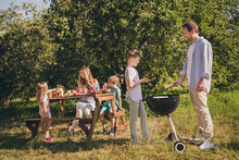 Family Full Outdoors Gathering...