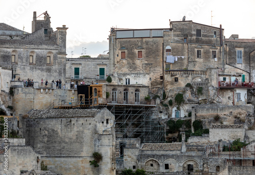 Cuadros en Lienzo Bond apartment from the movie  No Time to Die in Sassi, Matera, Italy
