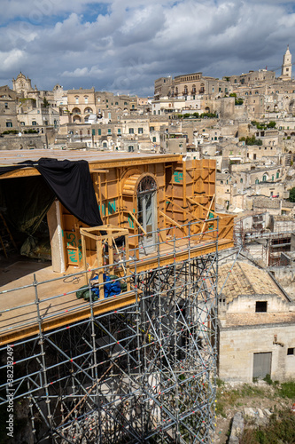 Платно Bond apartment from the movie  No Time to Die in Sassi, Matera, Italy