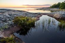 Beautiful Sunset In Seashore