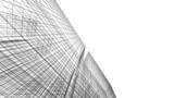 Fototapeta Do przedpokoju - Modern architectural drawings 3d illustration