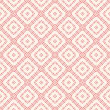 Geometric Square Texture. Pink...