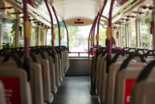 (Selective Focus) A Bus, With ...