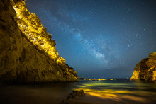 Milky Way View From The Beach