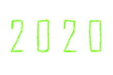 2020 New Year, Two Thousand An...