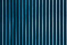 Blue Metallic Stripped Background