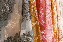 Pleated Patterned Fabric