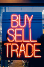 Buy Sell And Trade Neon Sign