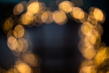 Bokeh Lights Background. Out O...