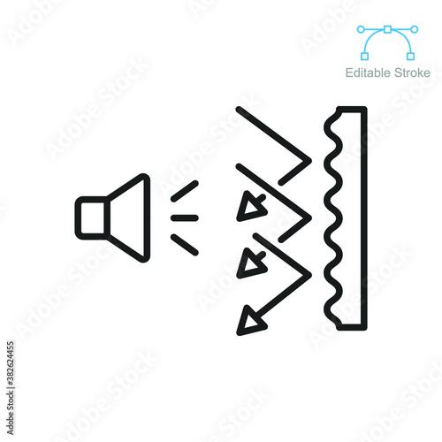 Obraz na plátně Soundproof icon