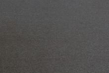 Texture Of A Woolen Gray Rug.