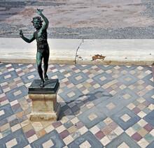 Bronze Statue Dancing Faun Arc...