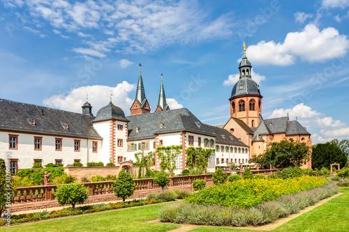 Obraz Kloster Seligenstadt im Kreis Offenbach in Hessen - fototapety do salonu