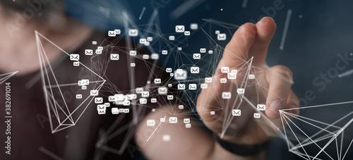 Cuadros en Lienzo contact communication support contact concept service