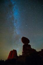 Stars, Balanced Rock, Arches N...