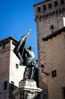 Monument of Juan Bravo in the city of Segovia.