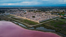 Aerial View Of Aigues Mortes, ...