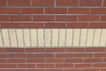 A Decorative Brick Wall For A ...