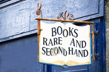 Book Shop With Rare And Second Hand Books