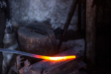 In A Blacksmith's Workshop. Bl...