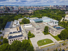 Boston Museum Of Fine Arts At 465 Huntington Avenue In Fenway, Boston, Massachusetts MA, USA. This Is The Fourth Largest Museum In The US And 17th In The World.