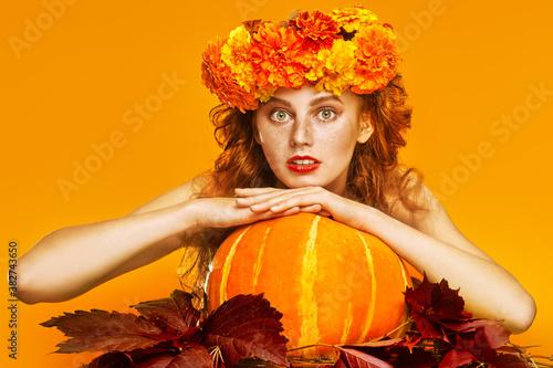 orange autumn harvest