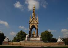 The Albert Memorial In Kensington Gardens, London