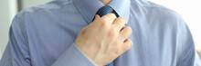 Close-up Of Stylish Man Wearin...