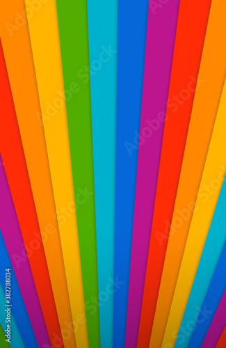Okleiny na drzwi - Kolorowe - Wielobarwne  abstract-rainbow-background