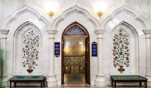 Interior Of The Mosque Kul-Sha...