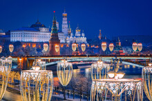Christmas Evening In Moscow. F...