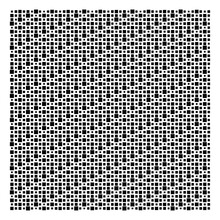 Cube, Square Geometric Halftone. Square, Cubic Vector Illustration