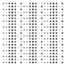 Cube, Square Geometric Halftone. Square, Cubic Vector Illustration