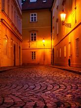 Night Street On Kampa Islan In...