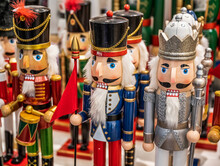 Colorful Nutcracker Figures At...