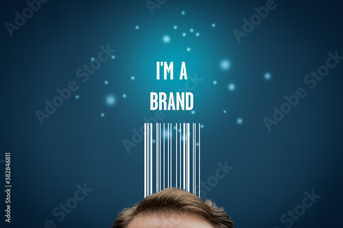 I am a brand - marketing with personal branding concept