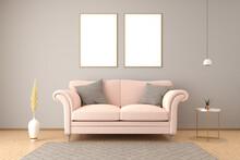 Elegant Interior Setting With ...